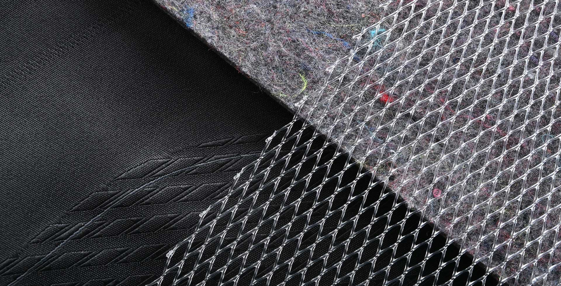 Upcycled Non-woven Embossed Component