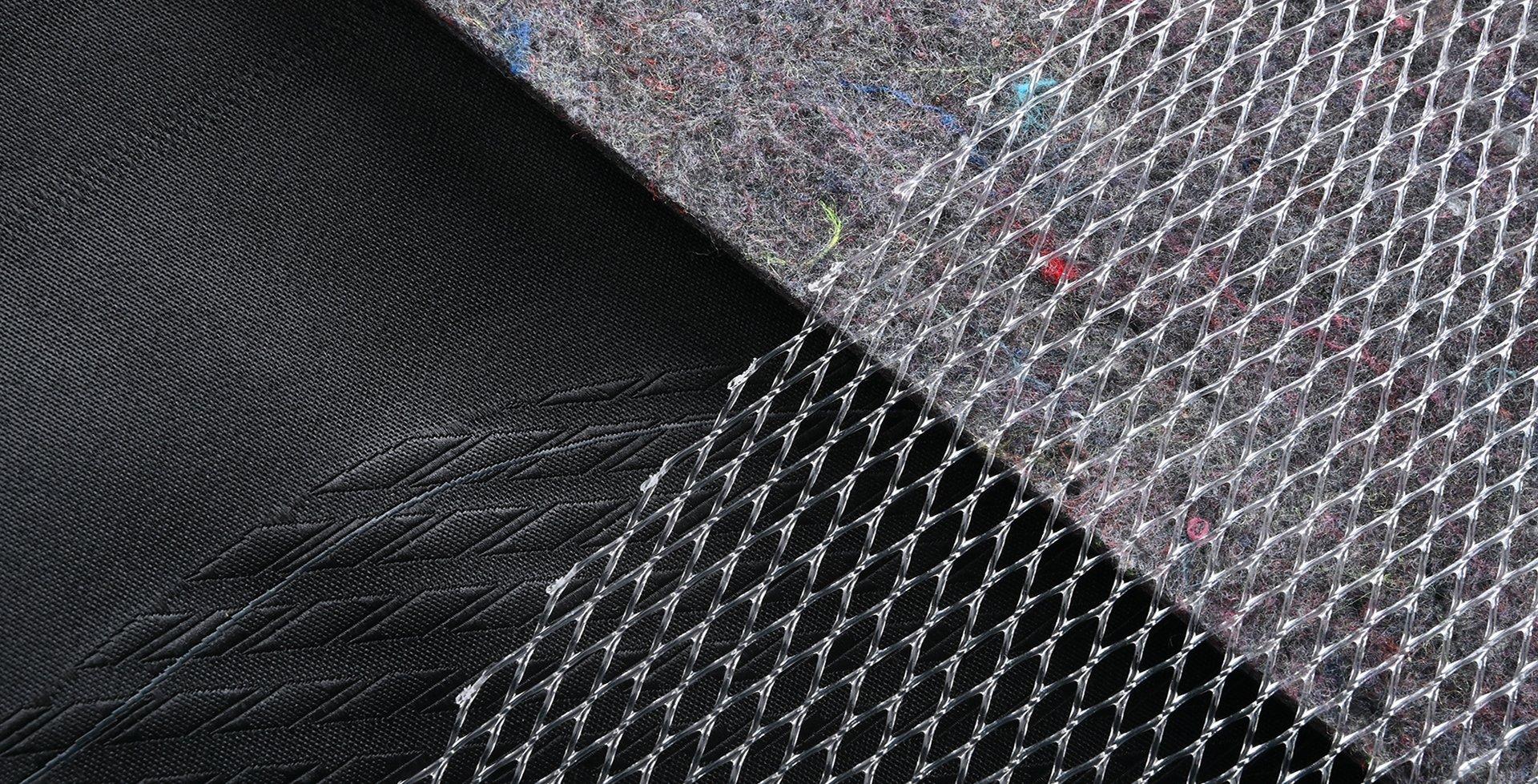 可拆換式人身保護部件 Upcycled Non-woven Embossed Component