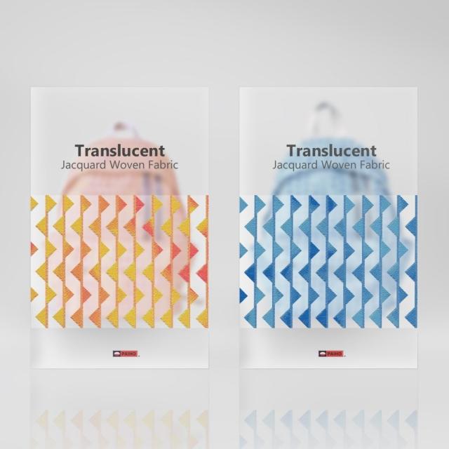 Translucent Jacquard Woven Fabric